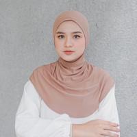 Ciput Ninja Resleting Premium Antem Jersey    Inner hijab ciput ninja
