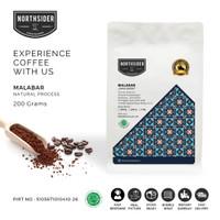 BIJI KOPI ARABIKA JAVA MALABAR NATURAL - MANUAL BREW COFFEE NORTHSIDER
