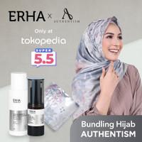 ERHA X AUTHENTISM Paket Brightening - Pencerah Wajah & Kerudung Sefa