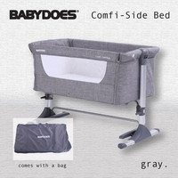 Box Babydoes Mini Bed 165 / Tempat Tidur Bayi - Abu-abu