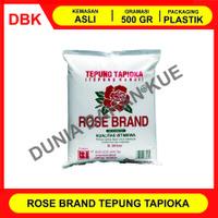 TEPUNG TAPIOKA ROSE BRAND 500 GR / TEPUNG SAGU / KANJI / ROSEBRAND