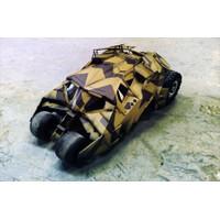 Hot Toys MMS184 1/6 The Dark Knight Rises Batmobile Tumbler Camouflage