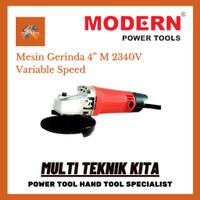 Angle Grinder Variable Speed Mesin Gerinda Tangan MODERN M 2340V 4