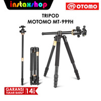 MOTOMO MT-999H Professional Video Photo Tripod Horizontal