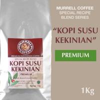 Kopi Susu Kekinian PREMIUM 1kg biji bubuk MURRELL special blend