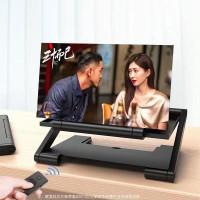 KACA PEMBESAR LAYAR SMARTPHONE 3D HD / PEMBESAR LAYAR HP HD 3D F6 - Hitam