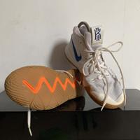 Sepatu NIKE KYRIE 4 UNCLE DREW WHITE BASKET PUTIH