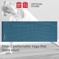 Miniso Yoga Mat Comfortable 3mm - Drak Blue