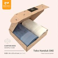 OKE Morning Whistle Carton Box Packaging Couple 33 x 33 x 8 cm