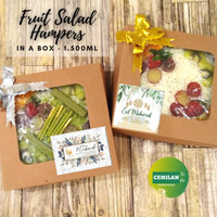 1.500ml - Salad Buah / Fruit Salad / Hampers Cup Box / Cemilan to Go