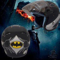 Helm Anak Karakter Umur 3-9 Tahun Batman