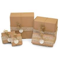 TERMURAH!!! DIY Gift Packaging Kotak/Kado/Hadiah Rustic Aesthetic