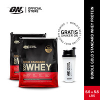 Optimum Nutrition Bundle Whey Gold Standard Whey Protein 5,5 +5.5 lb