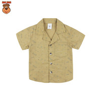 MacBear Baju Anak Laki-laki Kemeja Lebaran Collection Kerah Jas Stars