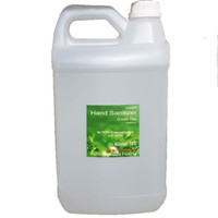 Handsanitizer Hand Sanitizer Green Tea Anti Lengket Alkhohol 70% 2L 5L
