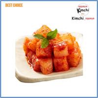 Kimchi Vegetarian lobak 200 gram vegie vegan vegetarian