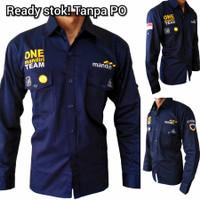 Baju Seragam Bank Mandiri Drill Kemeja PDL One Mandiri Team