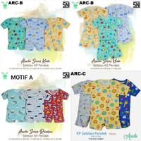 ARUCHI Setelan Pendek Baju Tidur Bayi Part 3
