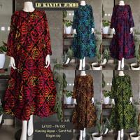 Gamis Batik Cap Jumbo