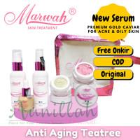 Marwah Paket Anti Aging Teatree Cream Original Flek hitam BPO