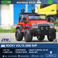 Mainan Mobil Aki SHP Volta Jeep Rocky 5008 GARANSI 18 BULAN