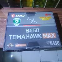 paketan mobo procie msi b450 tomahawk & amd ryzen 5 3600 polos