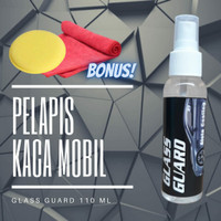 GLASS GUARD Pelapis Kaca Mobil / Helm Anti Air Hujan & Embun Anti Fog