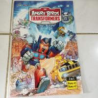 Angry Birds Transformers 2 in 1 buku 1 & buku 2