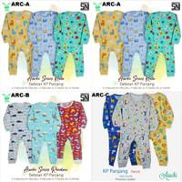 ARUCHI BABY Setelan Panjang Piyama Baju Tidur Bayi Part 4