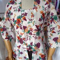 Kebaya Sifon Mossy Flower Khas Bali G14