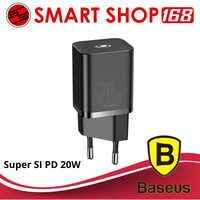BASEUS KEPALA CHARGER SUPER SI TYPE C PD QUICK CHARGE 20W IPHONE