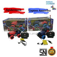 Mainan Anak Laki laki Mobil Remot Control Jeep Offroad Super Hero