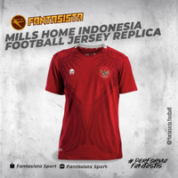 MILLS HOME INDONESIA FOOTBALL JERSEY REPLICA VERSION 1014GR RED - S