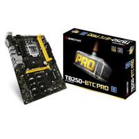 BIOSTAR Motherboard TB250-BTC PRO LGA1151 Intel B250 DDR4