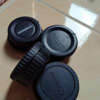 Tutup Lensa dan Body canon dan Nikon