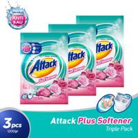 Attack Plus Softener 1200gr Triple Pack