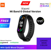 Xiaomi Mi Band 6 AMOLED Miband 6 Smartwatch SpO2 - Garansi Toko, China