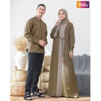 couple nibras gamis nb a89 koko nsk 089 baju muslim pasangan sarimbit