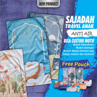 Sajadah Travel Anak Anti Air - LABEL