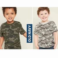 Baju anak kaos Old Navy grey army 6-8 T