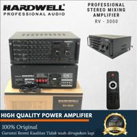Power Amplifier Karaoke Hardwell RV 3000 Original Amplifier Hardwell