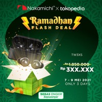 Nakamichi TW 3XS Plus Earphone - Black