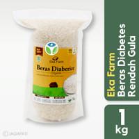 Eka Farm - Beras Diabetes 1kg - Rendah Gula - Organik