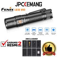 Fenix LD32 UVC Disinfecting Flashlight Lumens 1200 GARANSI RESMI