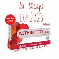 Asthin Force 6 mg [KEMASAN BARU isi 18cap 6mg] Antioksidan Terkuat