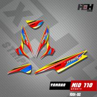 Stiker Striping MIO SPORTY Variasi 02 Desain Racing