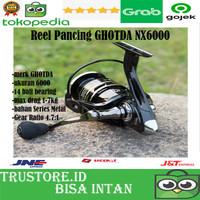 NEW Reel Pancing NX6000 Series Metal -HITAM