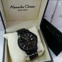JAM TANGAN PRIA ALEXANDRE CHRISTIE PRIMO STEEL AC1014MD - FULL HITAM