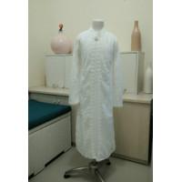 Baju Pakaian Muslim Gamis putih anak Perempuan tersedia size buat Ibu - 4