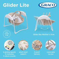Graco Swing Glider Lite Benny And Bell Ayunan Bayi Graco